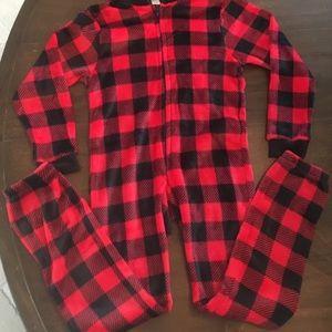 Other - Kids one piece zipper pajamas